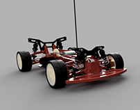 OpenR/C 3D Printed 1:10 4WD Touring Concept RC Car