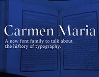Carmen Maria (Preview) - Type@Paris 2015