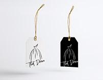 Elegant Creative Logo Design and Naming for Dress Shop