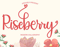 Free Riseberry Calligraphy Font