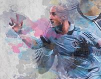 Watercolor Soccer