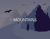 Mountains | Illustration