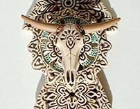 openwork pendants