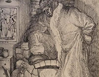 A Christmas carol's illustration 2