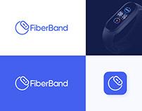 Fiberband - Smart Band Logo Branding Design