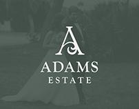 Adams Estate Logo Design