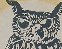 owl | magiclamp notebook