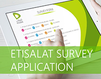 Etisalat Survey Applications - IPAD