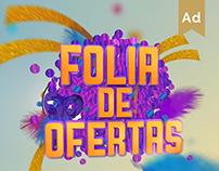 Folia de Ofertas - Carnaval.