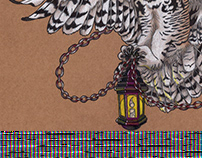 Owl and Lantern