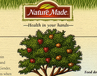 Nature Made Print Ads Illustrated by Steven Noble