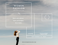 Women Fashion | Modern and Creative Templates Suite