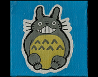 Totoro Mini Canvas