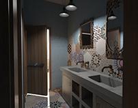 Ανακαίνιση μπάνιου στην Πάτμο