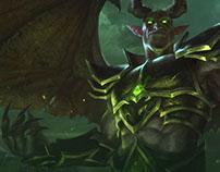 WarLegion. Website for private server World of Warcraft