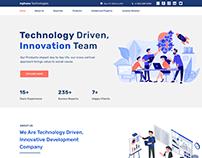 Technology Company Webdesign