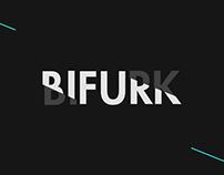 BIFURK // Animated logo