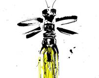 Camlin waterproof drawing Ink