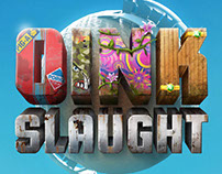 Oinkslaught Game - Logo and UI elements