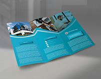 Clean Tri-Fold Brochure Design