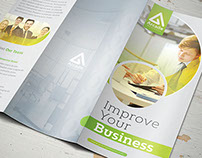 Business Trifold Brochure Vol 4