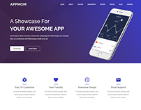 Appmom – Multipurpose Landing Page Theme