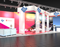 Chemours Booth Visualization for BBCO MesseManufaktur