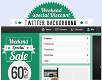 Special Sale Twitter Background