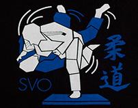 SVO judo T-shirt design