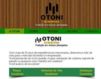 Web Site para a Otoni Armários