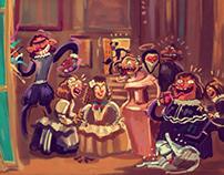 Las Meninas (reinterpretation)
