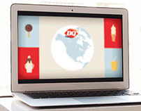 Toshiba / Dairy Queen - Motion Graphics