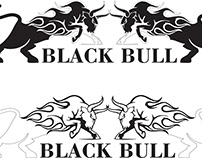 BlackBull Energy Drink Brand Logo Designing and web