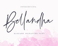 Free | Bellandha Signature Font
