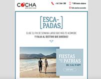 Mail Escapadas COCHA