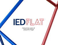 IED FLAT | Graphic Design for exhibition