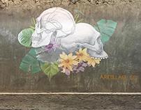 Mural in Mexito City