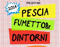 Pescia Fumetto & Dintorni 2014 - flyer