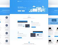 Landing Solid - Website Redesign