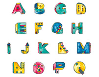 Little Houses Alphabet