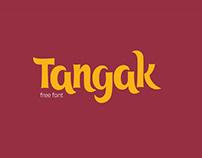 Free Tangak Display Font