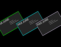 PAX JUNE - BRANDING