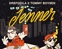 Animated artwork for the single Jenner - Drefquila