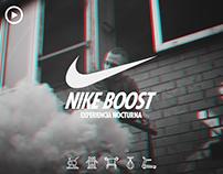 Nike Boost Experiencia Nocturna