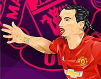 ZLATAN IBRAHIMOVIC Low Poly Art (Personal Project)