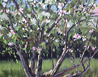 Old Apple Tree by Tracy Butler