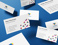Tetrix IT Company Logo, Brand Identity Concept Design