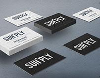 Suh'ply: startup branding