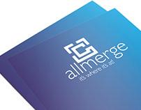 Allmerge Logo Development