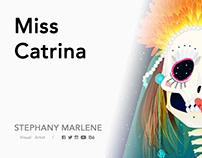 Miss Catrina - Illustration